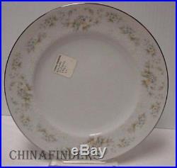 NORITAKE china PATIENCE 2964 pattern 60-piece SET SERVICE for 12 place settings