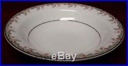 NORITAKE china PETITE 5507 pattern 47 piece Set cup/dinner/bread/fruit/soup