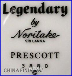 NORITAKE china PRESCOTT 3880 pattern 40-piece SET SERVICE for 8