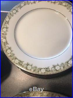 NORITAKE china PRINCETON 6911 pattern 65-piece SET SERVICE for Twelve (12)