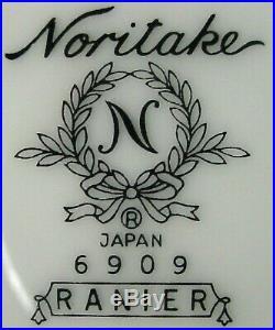 NORITAKE china RANIER 6909 pattern 65-piece SET SERVICE for 10-12 + 6 Serving