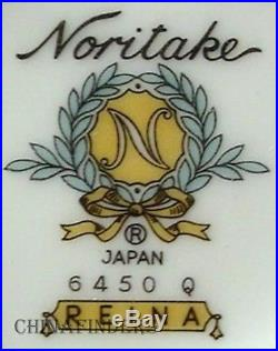 NORITAKE china REINA pattern 116-piece SET SERVICE for 12 including 7 Serving