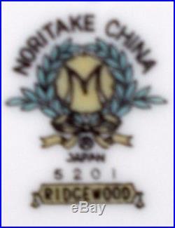 NORITAKE china RIDGEWOOD 5201 pattern 72-pc SET SERVICE for TWELVE (12)