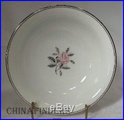 NORITAKE china ROSALES 5790 pattern 74-piece SET SERVICE for 10