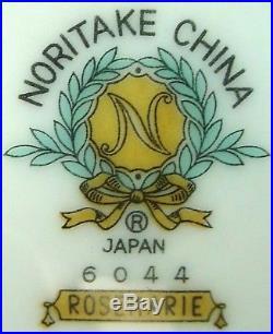 NORITAKE china ROSEMARIE 6044 pattern 10-piece HOSTESS SET