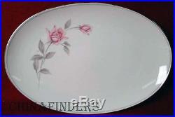 NORITAKE china ROSEMARIE 6044 pattern 86-piece SET SERVICE for 12