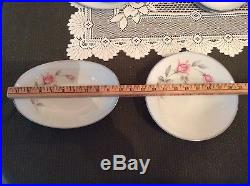 NORITAKE china ROSEMARIE 6044 pattern 95-piece SET SERVICE for 12 extra pieces