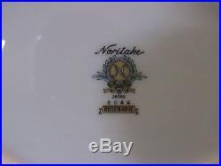 NORITAKE china ROSEMARIE 6044 pattern serving set of 5 pieces