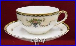 NORITAKE china ROSEMARY 71629 pattern 59-piece SET SERVICE for 12 less 1 bread
