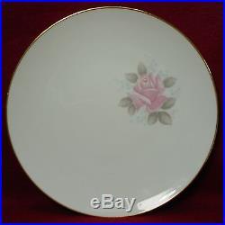 NORITAKE china ROSEVILLE 6238 pattern 81 piece Set cup/dinner/salad/soup/fruit