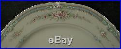 NORITAKE china ROTHSCHILD pattern 72-piece SET 12 Place Settings + Fruit Bowls