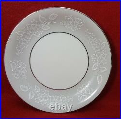 NORITAKE china SABRINA 5590 pattern 84 pc Set cup/dinner/salad/bread/fruit/soup