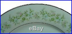 NORITAKE china SAVANNAH 2031 pattern 66-pc SET for 10 + soups & 5 serving pieces