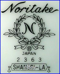 NORITAKE china SHANGRI-lA 2363 pattern 5-piece HOSTESS Serving Piece SET