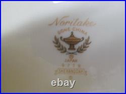 NORITAKE china SHENANDOAH 9729 FRUIT desset SAUCE BOWL set of FOUR