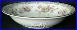 NORITAKE china SOMERSET 5317 pattern 66-piece SET SERVICE for 10 with fruit & soup