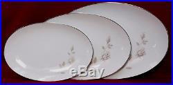 NORITAKE china SWEET TALK 6513 pattern 78-pc SET SERVICE for 10 incl serving