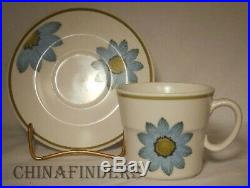 NORITAKE china UP-SA DAISY 9001 pttn 45-piece SET SERVICE for 8 + Cereal Bowls