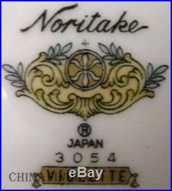 NORITAKE china VIOLETTE 3054 pattern 29-piece SET SERVICE