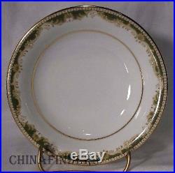 NORITAKE china WARRINGTON 6872 pattern 114-piece SET SERVICE for Twelve (12)