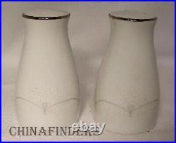 NORITAKE china WHITEBROOK 6441 12 pc Hostess/Serving Set platter/gravy/shaker