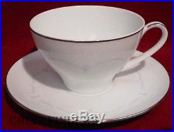NORITAKE china WHITEBROOK 6441 pattern 46pc Set dinner/salad/bread/cup/cereal