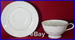 NORITAKE china WHITEHALL 6115 pattern 60-piece SET SERVICE for Twelve (12)