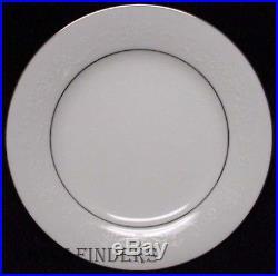 NORITAKE china WHITEHALL 6115 pattern 77-piece SET SERVICE for 12 + Serving