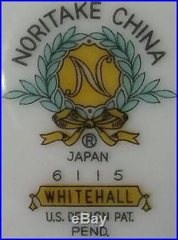 NORITAKE china WHITEHALL 6115 pattern 8-piece HOSTESS SERVING set