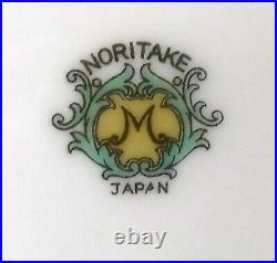 NORITKE china N205 MULTICOLOR FLORAL SPRAYS pattern 90-piece SET SERVICE for 10