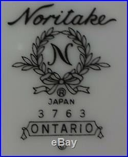 NORITKE china ONTARIO 3763 pattern 54-piece SET SERVICE or LOT