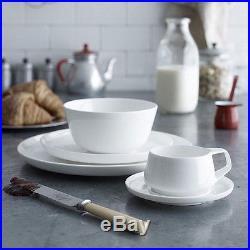 New Marc Newson By Noritake 20-piece Dinner Set Bone China Plates Kitchen Bowls