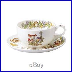 New Noritake Bone China My Neighbor Totoro Milk Tea Cup And Saucer Set Dandelion