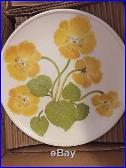 New Old Stock 45 pc Set Noritake Progression China FLOWER TIME 9072 Platter