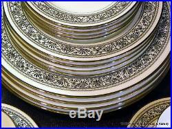 Nice 20 pcs NORITAKE china PRELUDE pattern 4 X 5 Piece Place Settings