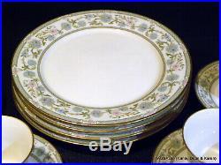 Nice 20 pcs NORITAKE ivory china MIYOSHI pattern 4 X 5 Piece Place Settings