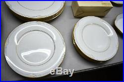 Nice Clean Noritake Golden Cove China 46 Pieces Including 8 Full Place Settings
