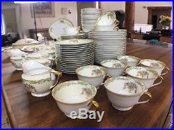 Noritake 103 piece China Set, Arvana Near Mint