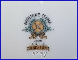 Noritake 5414 Wheaton Fine China 83 pieces (11 place settings plus sides)