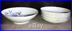 Noritake 6603 Sylvia Japan China Dish Set Platter Cup Saucers Plates Bowls MS31