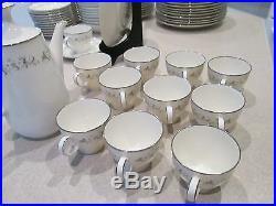Noritake #7568 Weston Ivory Fine China 75 piece set