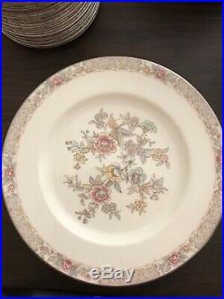 Noritake Antique Bone China Imperial Garden 9720 7 Piece dinner set X 12 84