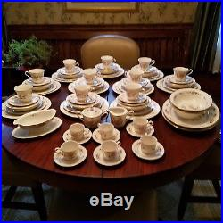 Noritake Asian Song pattern China 10 complete settings + add total 92 pieces
