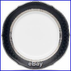 Noritake Austin Platinum Accent Plates, Set of 4