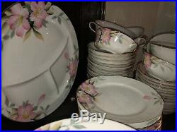 Noritake Azalea China dinnerware Unbeatable Set 200+ Pieces