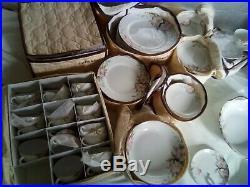 Noritake Azalea China set 133pcs. 12 9p settings mint 14 Serv. Pcs