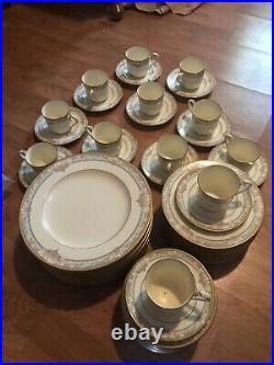 Noritake Barrymore 9737 China 12 Place Settings / 60 Pcs Free Shipping