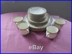 Noritake Barrymore China Lot Of Four 5 Piece Place Settings