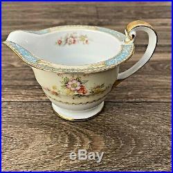 Noritake Blue Dawn 622 China Set 97 Pieces Vintage 1950