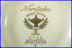 Noritake Bone China #9736 Magnificence 42 Piece Dinner Set
